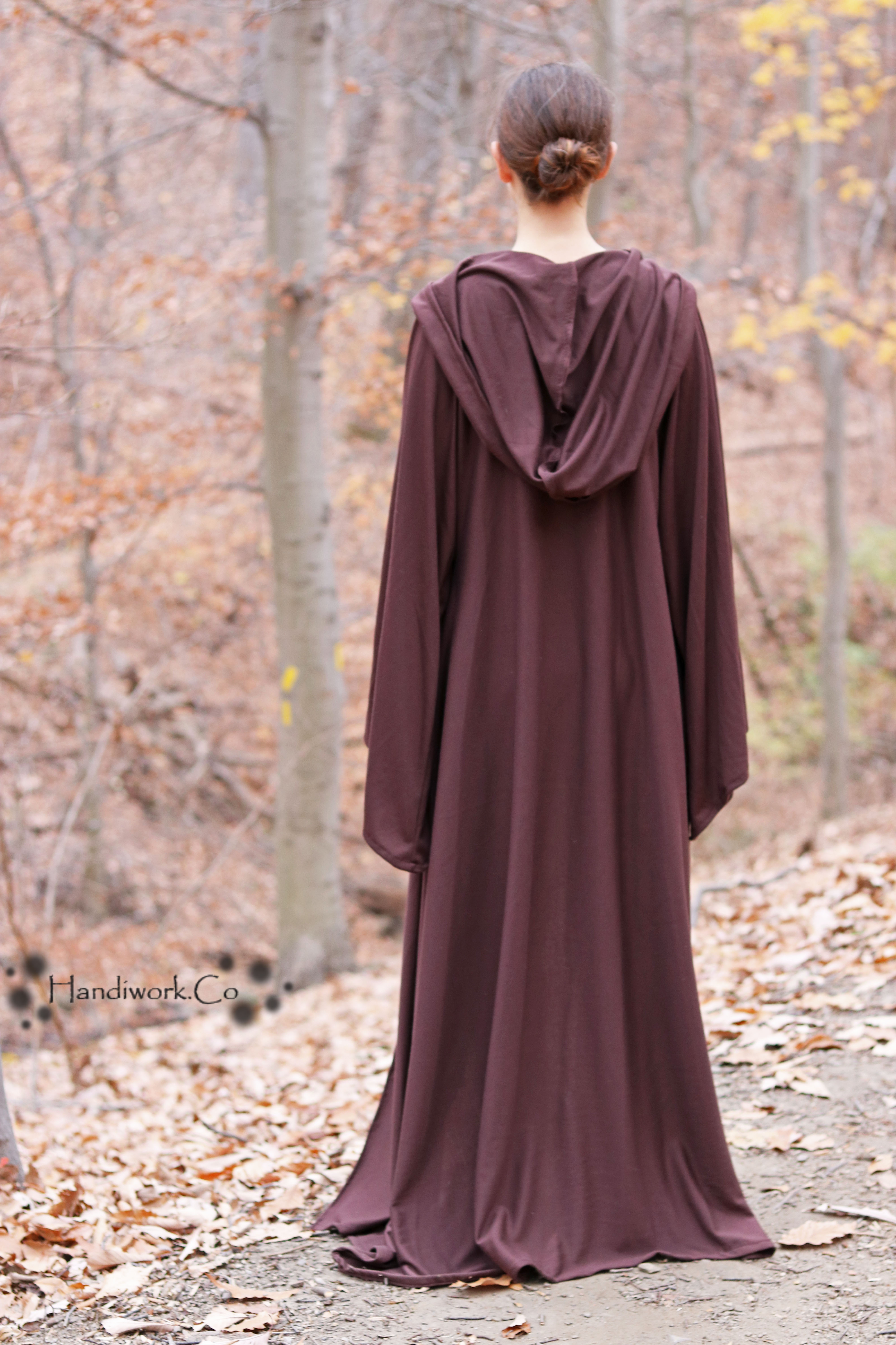 Hooded Robe Pattern Amazing Design Inspiration